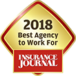 Best Agencies to Work For 2018 Overall Badge